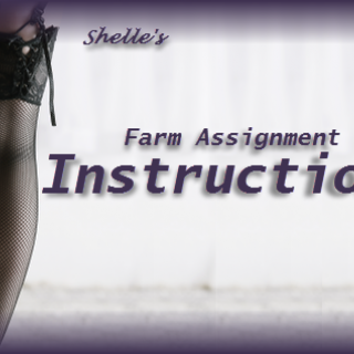 Farm Assignment Instructions