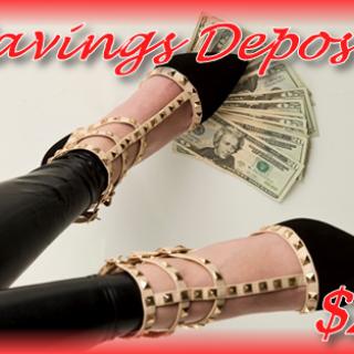 Savings Deposit - $25