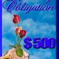 Monthly Obligation - $500