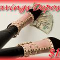 Savings Deposit - $100